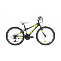 Bicicleta Sprint Casper 24 Negru Mat 2019