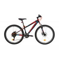 Bicicleta Sprint Active DD 26 380mm Negru/rosu mat 2019