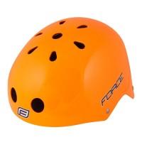 Casca Force BMX portocaliu lucios L-XL