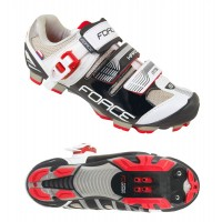 Pantofi MTB Hard Force negru/alb 43