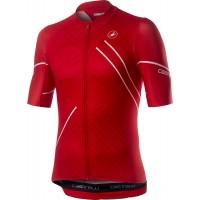 Tricou cu maneca scurta Castelli Passo Rosu L