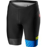 Pantaloni scurti pentru triatlon Castelli Free Tri Negru/Albastru L