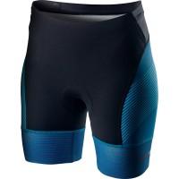 Pantaloni scurti pentru triatlon Castelli Free W Tri, de dama, Albastru Multicolor S