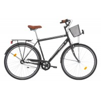 Bicicleta Robike City Man 28 neagra 2017-530mm