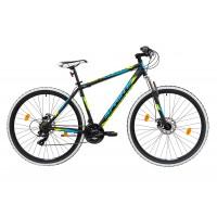 Bicicleta Sprint Tornado DD 29 480mm Negru/Verde mat 2019