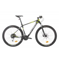 Bicicleta Sprint Ultimate Carbon 29 381mm Gri/Verde
