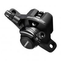 Frana mecanica pe disc Shimano Tourney TX-805 fara disc si adaptor neagra