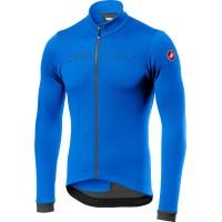 Tricou cu maneca lunga Castelli Fondo FZ, Albastru/Antracit, XL