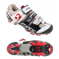 Pantofi MTB Hard Force negru/alb 41