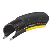 Anvelopa pliabila Continental UltraSport2 23-622 700-23C negru/galben