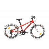 Bicicleta Sprint Apolon 20 rosu/alb 2016