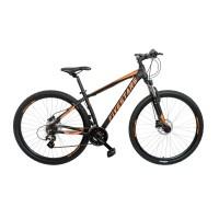 Bicicleta Fivestars Rebel 29 HDB Negru/Portocaliu 2019 430mm (M)