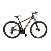 Bicicleta Fivestars Rebel 29 HDB 480mm Negru/Portocaliu 2019 480mm (L)