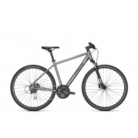 Bicicleta Focus Crater Lake 3.7 DI 28 Toronto Grey 2020 - 50(M)
