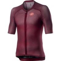 Tricou cu maneca scurta Castelli Climbers 3.0 Visiniu XL