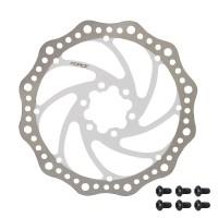 Disc frana Force 160mm 6 suruburi alb