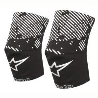 Sosete protectie genunchi Alpinestars MTB Knee Sock blac/white XS/S