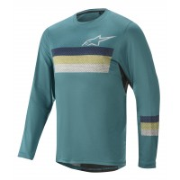 Bluza Alpinestars Alps 6.0 LS Melange/emerald/blue XL