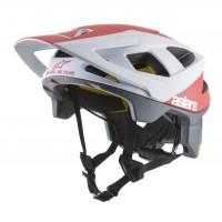 Casca Alpinestars Vector Tech MIPS Polar White/red Matt M