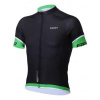 Tricou BBB ComfortFit maneca scurta BBW-246 negru/verde XXXL