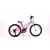Bicicleta Sprint Calypso 20 6V Roz Neon Lucios 2020