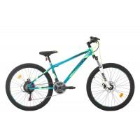 Bicicleta Sprint Active DD 26 Turcoaz Mat 2020 - 360 mm