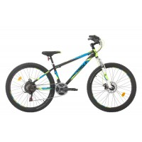 Bicicleta Sprint Active DD 26 Negru Mat 2020 - 360 mm