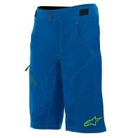 Pantaloni scurti Alpinestars Outrider Water Resistant Base Shorts dark blue/lime 34