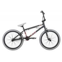 Bicicleta BMX HARO Downtown DLX negru mat 20.3 2018