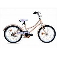 Bicicleta copii Robike Alice 20 crem