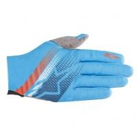 Manusi Alpinestars Predator bright blue/poseidon/orange XL