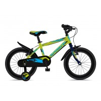 Bicicleta Sprint Casper 16 verde/cyan