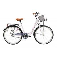 Bicicleta Sprint Elise N3 26 460mm Alb Mat 2019