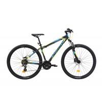 Bicicleta Sprint Maverick HDB 29 480mm Negru/lime/albastru mat 2019
