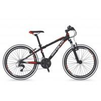 Bicicleta Shockblaze Ride 24 18v negru mat 2019