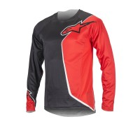 Bluza Alpinestars Sierra Long Sleeve Jersey black/red XL