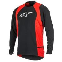 Bluza Alpinestars Drop 2 long Sleeve Jersey black/red XL