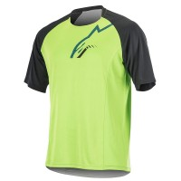 Tricou Alpinestar Trailstar S/S Jersey bright green/black L