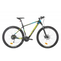 Bicicleta Sprint Ultimate Carbon 29 430mm Negru/Verde/Albastru