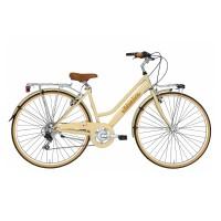 Bicicleta Adriatica Panarea Donna 28 cream 45 cm