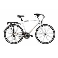 Bicicleta Adriatica Boxter HP 21V alba 45 cm