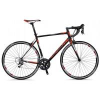 Bicicleta Sprint Monza Race negru/rosu 530 mm