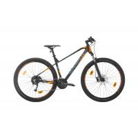 Bicicleta Sprint Apolon 29 NegruMat/Turquise/Portocaliu 2020 - 480 mm