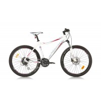Bicicleta Sprint Apolon Lady 26 alb/albastru 440 mm