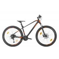 Bicicleta Sprint Apolon Pro 29 NegruMat/Portocaliu - 440 mm