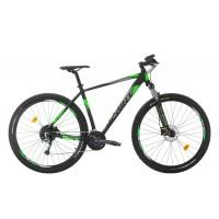 Bicicleta Sprint Maverick Pro 29 Negru/GriMat/Verde 2020 480mm