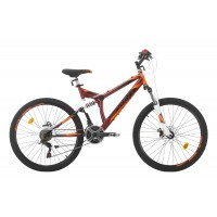 Bicicleta Sprint Element DB 26 Rosu/Negru 2020 460 mm