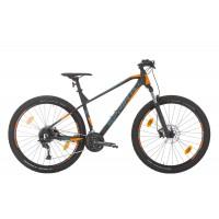 Bicicleta Sprint Apolon 27.5 NegruMat/Albastu/Portocaliu 2020 - 440 mm