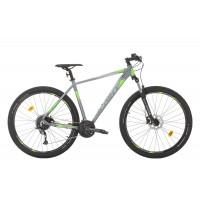 Bicicleta Sprint Maverick Pro 29 GriMat/Verde 2020 440mm