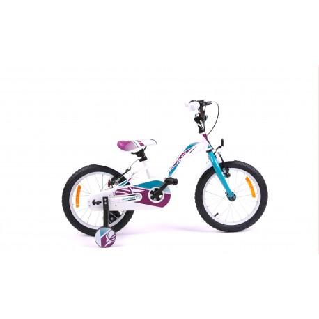 Bicicleta Sprint Alice 16 Alb Lucios 2020